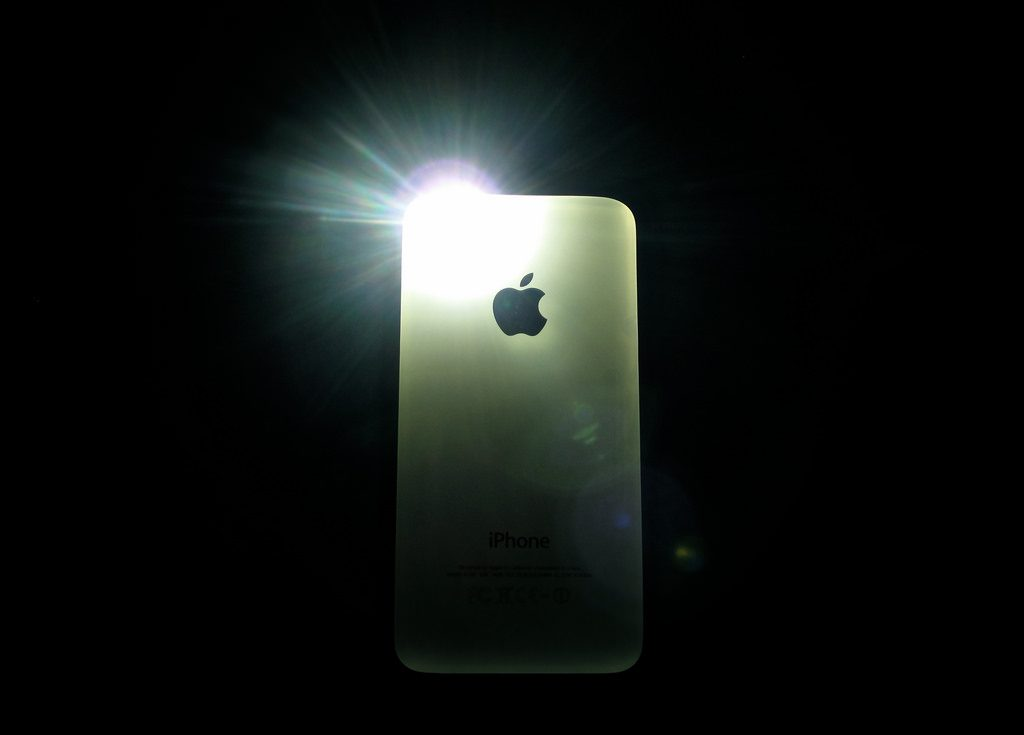 Flashlight iphone x